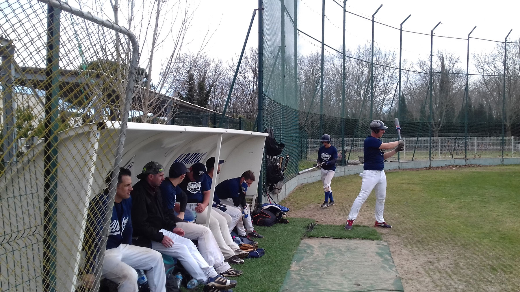 albatros-baseball-bench-mtp-vs-lgm
